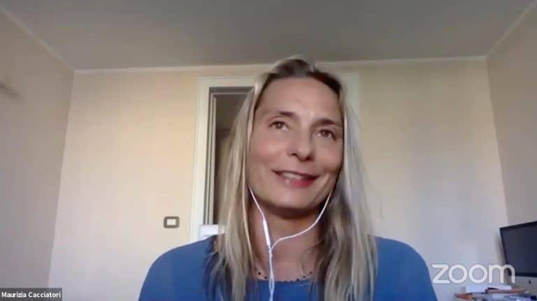 Maurizia Cacciatori senza rete, la mia vita, le mie scelte, il mio sport